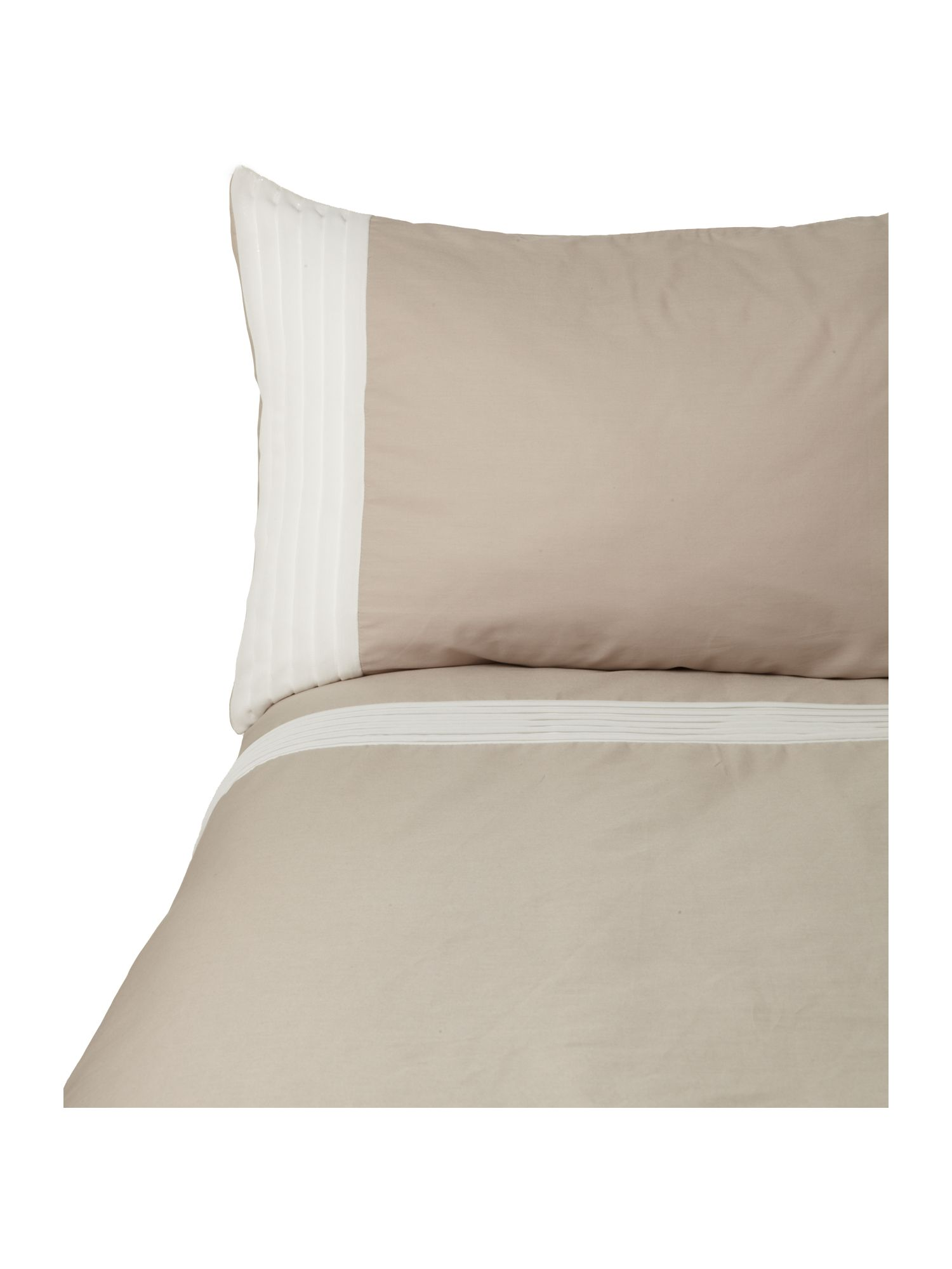 Poetry bedlinen in taupe