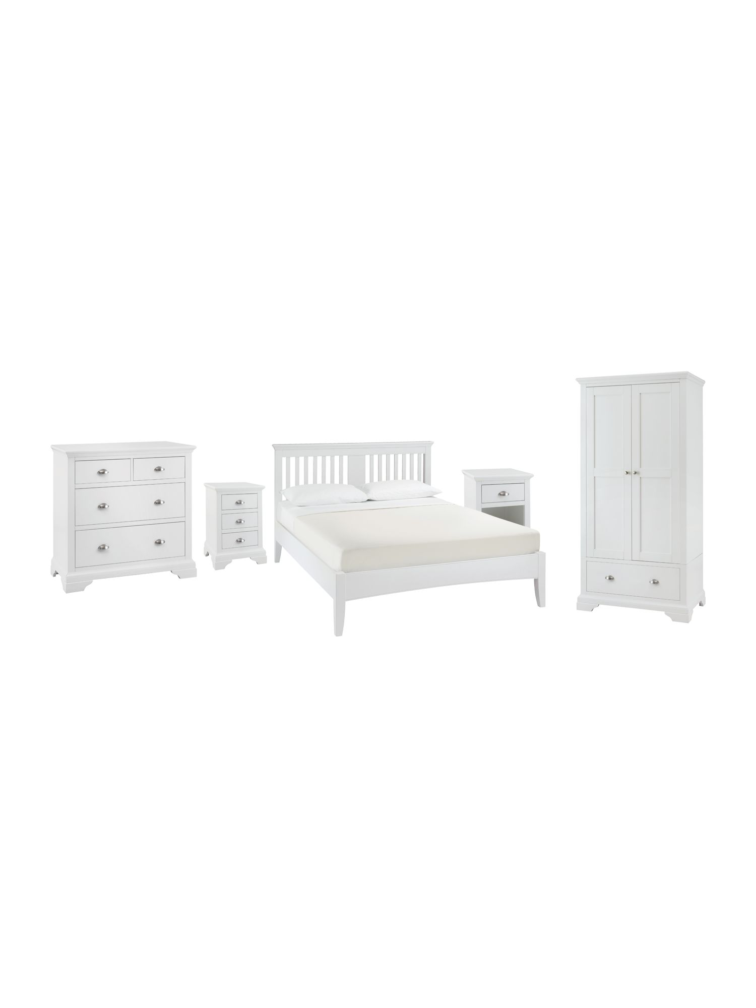 Etienne bedroom range in white