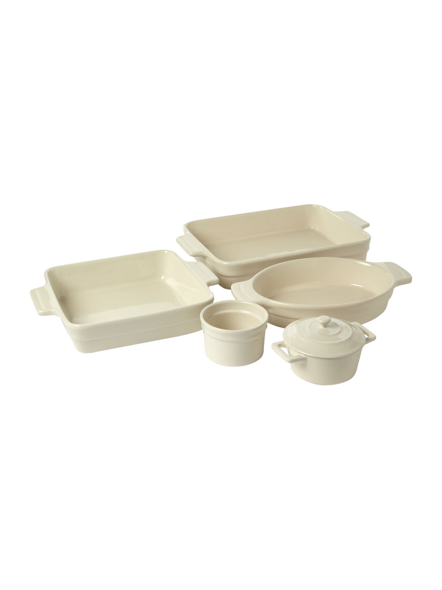 Maison cream oven to table ware