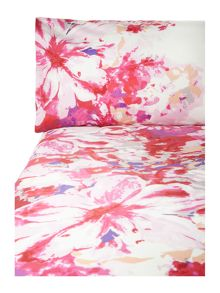 Pied a Terre Lily floral bedlinen in fuchsia