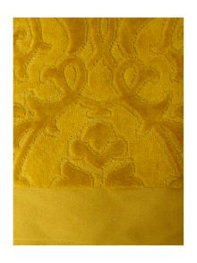 Heavy jacquard towels in lime