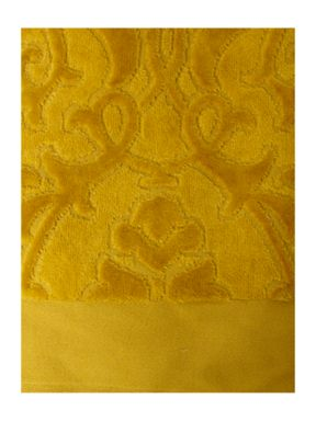 Pied a Terre Heavy jacquard towels in lime