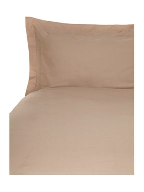 Linea 100% cotton bedlinen in taupe