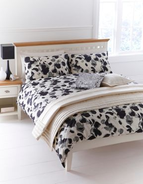 Linea Inky floral bed linen sets