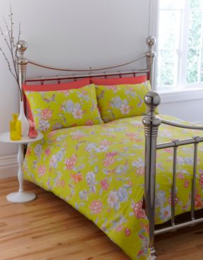 Linea by Collier Campbell Mariposa bedlinen sets in multi