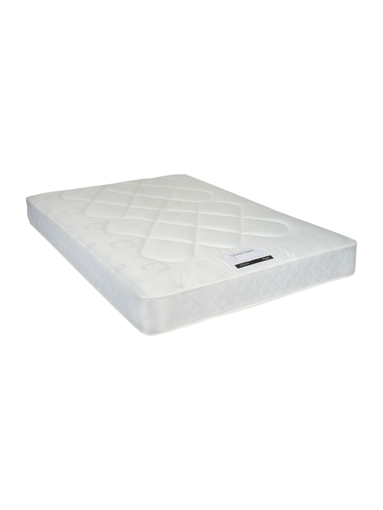 Open mattress range