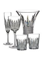 Waterford Lismore diamond glassware range