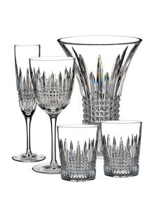 Lismore diamond glassware range