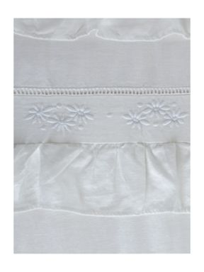 Shabby Chic White broderie bed linen