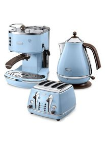 Delonghi Icona vintage Kitchen range in blue