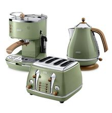 Delonghi vintage icona kitchen range in green