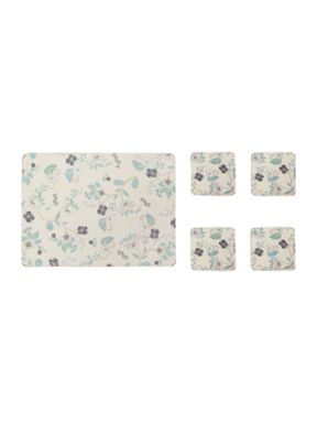 Denby Veronica cream placemats & coasters