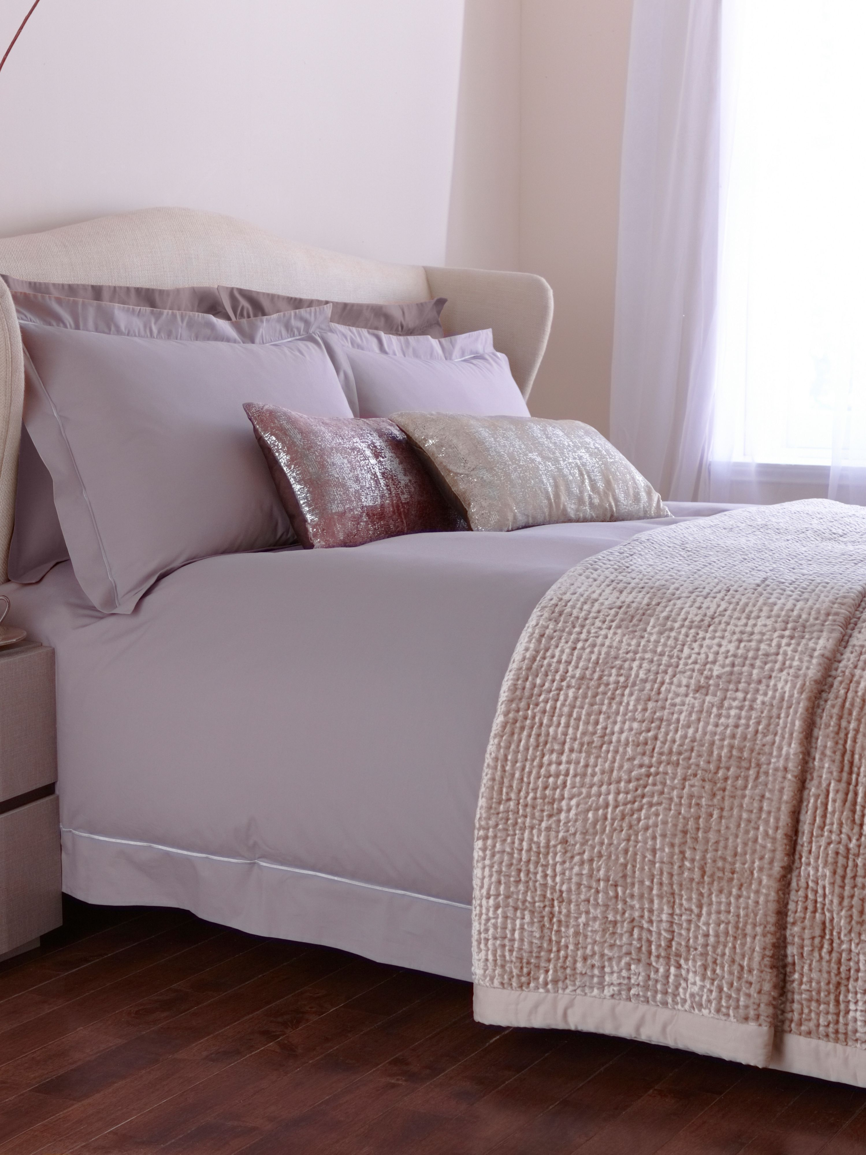 Mason bed linen in grey