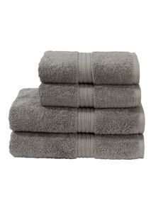 Christy Plush towels in shale