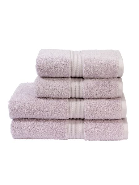 Christy Plush hand towel dusk