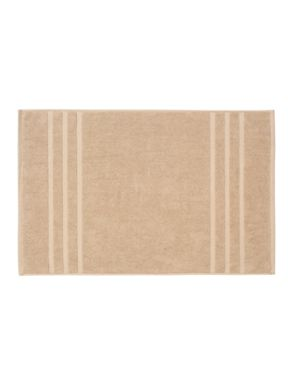 Christy Plush towels in fawn