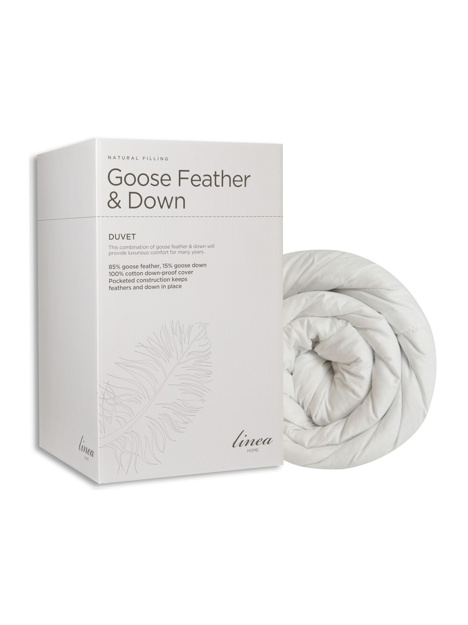 Goose feather and down duvets 10.5tog