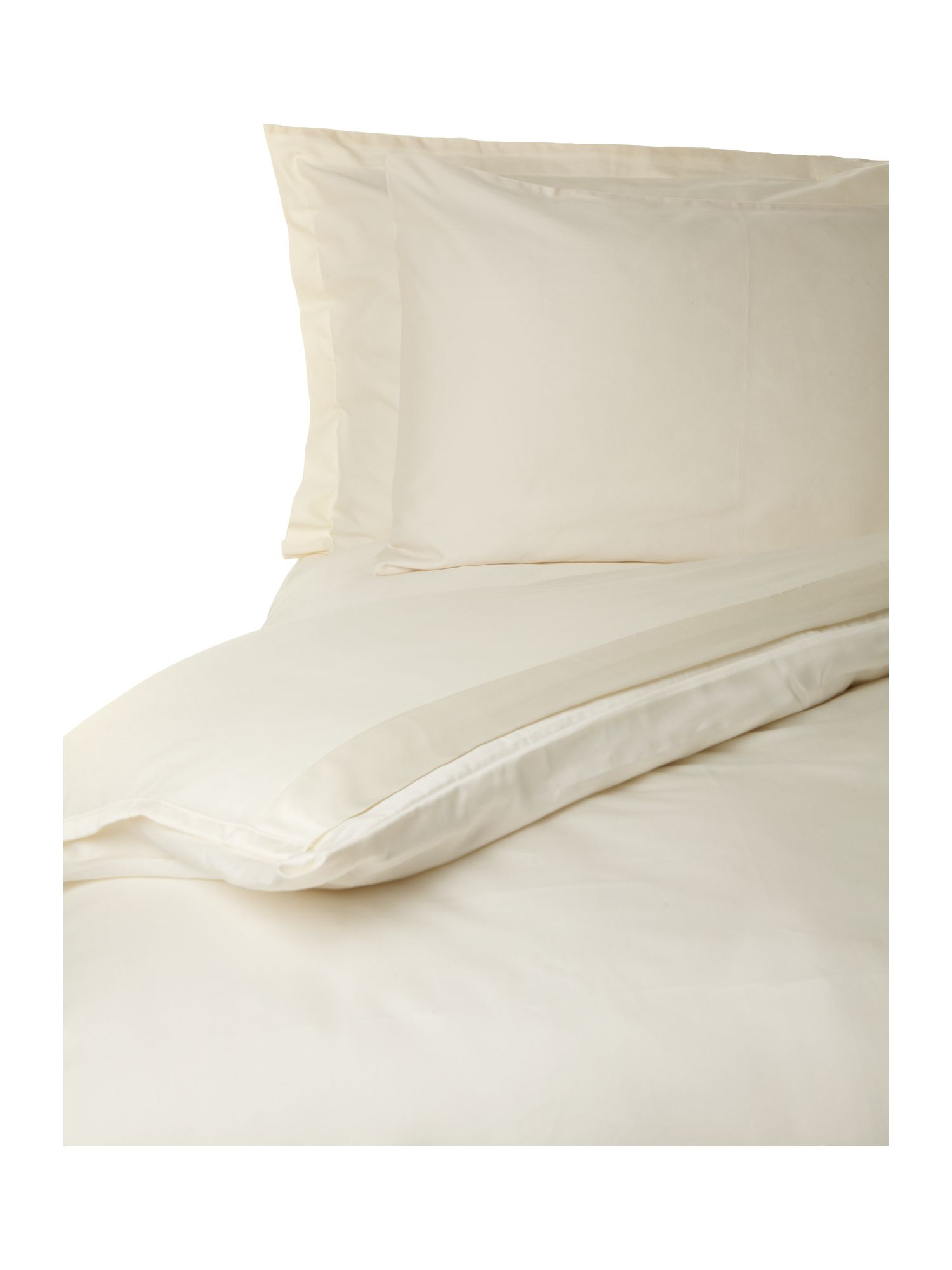 500 thread count cream bed linen range