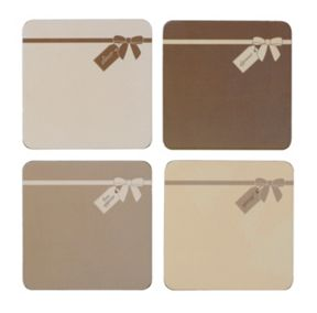Inspire Naturals with bow placemat set