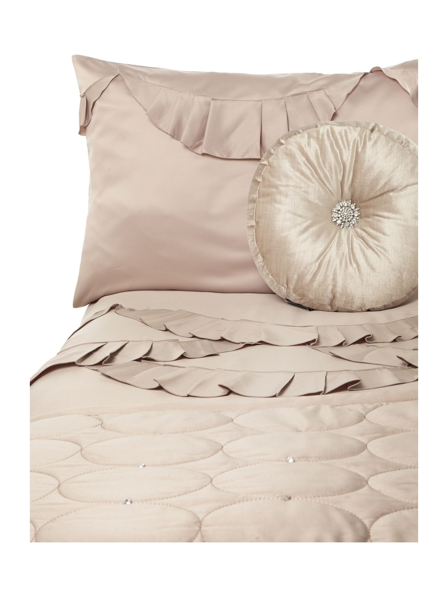 Evangeline bed linen in beige