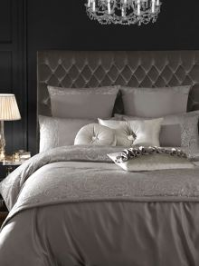 Allegra bed linen in grey