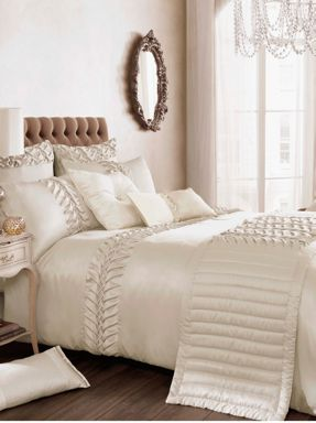 Kylie Minogue Felicity bed linen in champagne