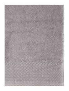 Zero twist towel range in amethyst