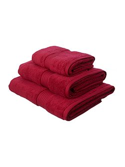 Face Cloth in Cherry (Set of 4)
