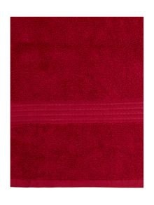Luxury Hotel Collection Zero twist towels cherry