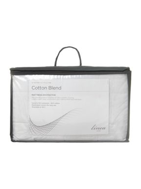 Linea Cotton blend quilted mattress protectors