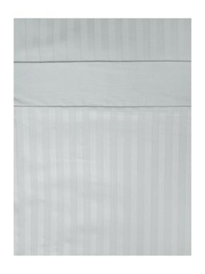 Luxury Hotel Collection 300TC Satin stripe bed linen in duck egg