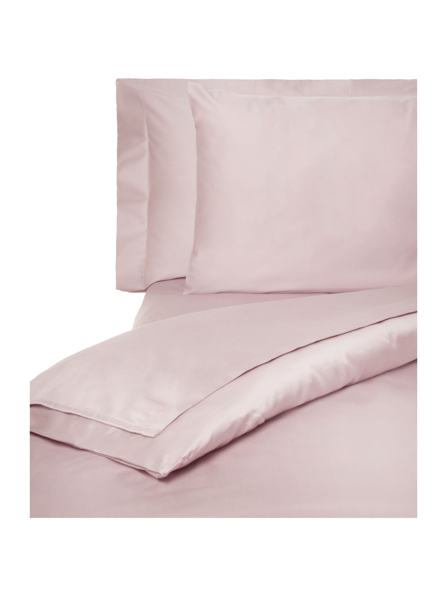 500TC bed linen range in mauve