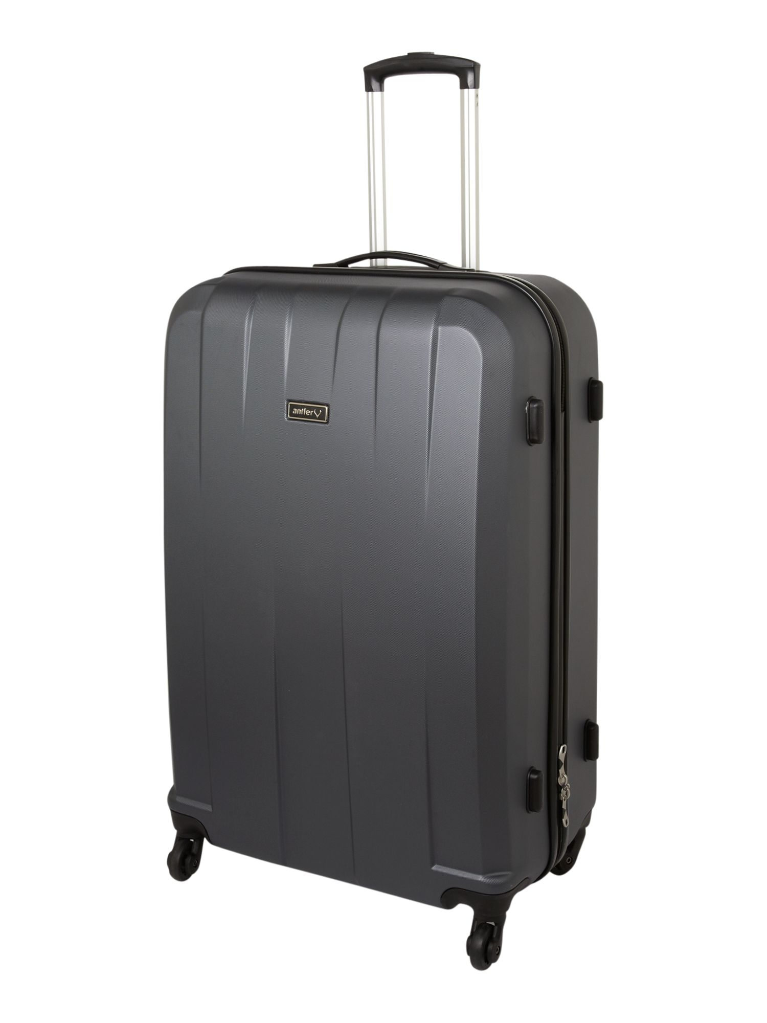 Quadrant grey suitcase range