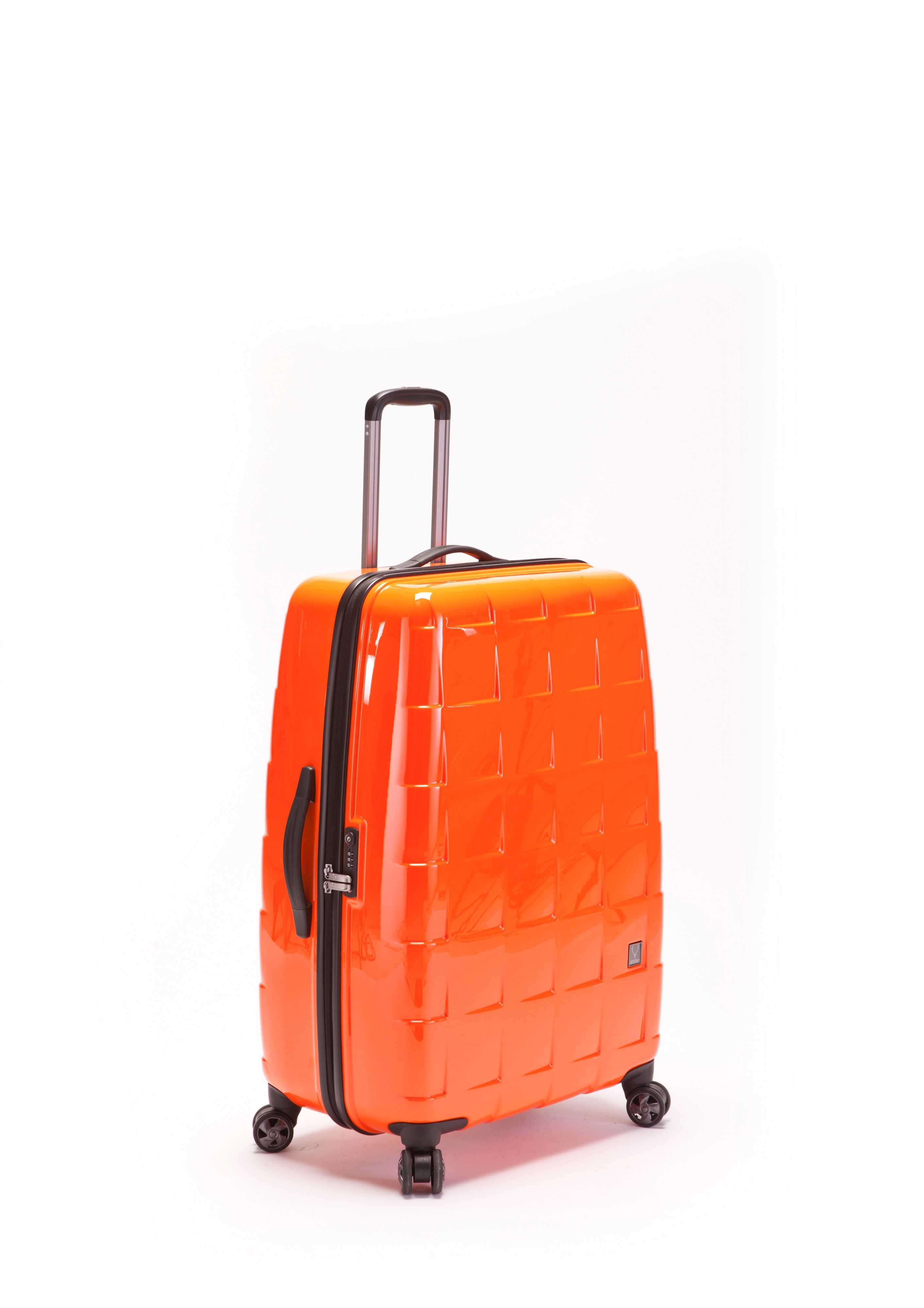 Camden orange luggage range
