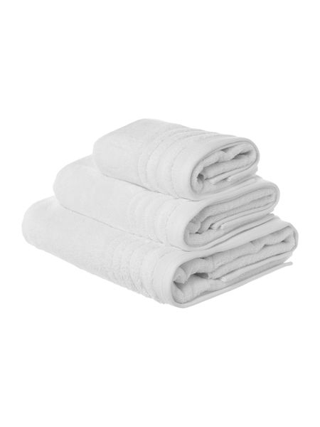 Casa Couture Classic luxury bath sheet white