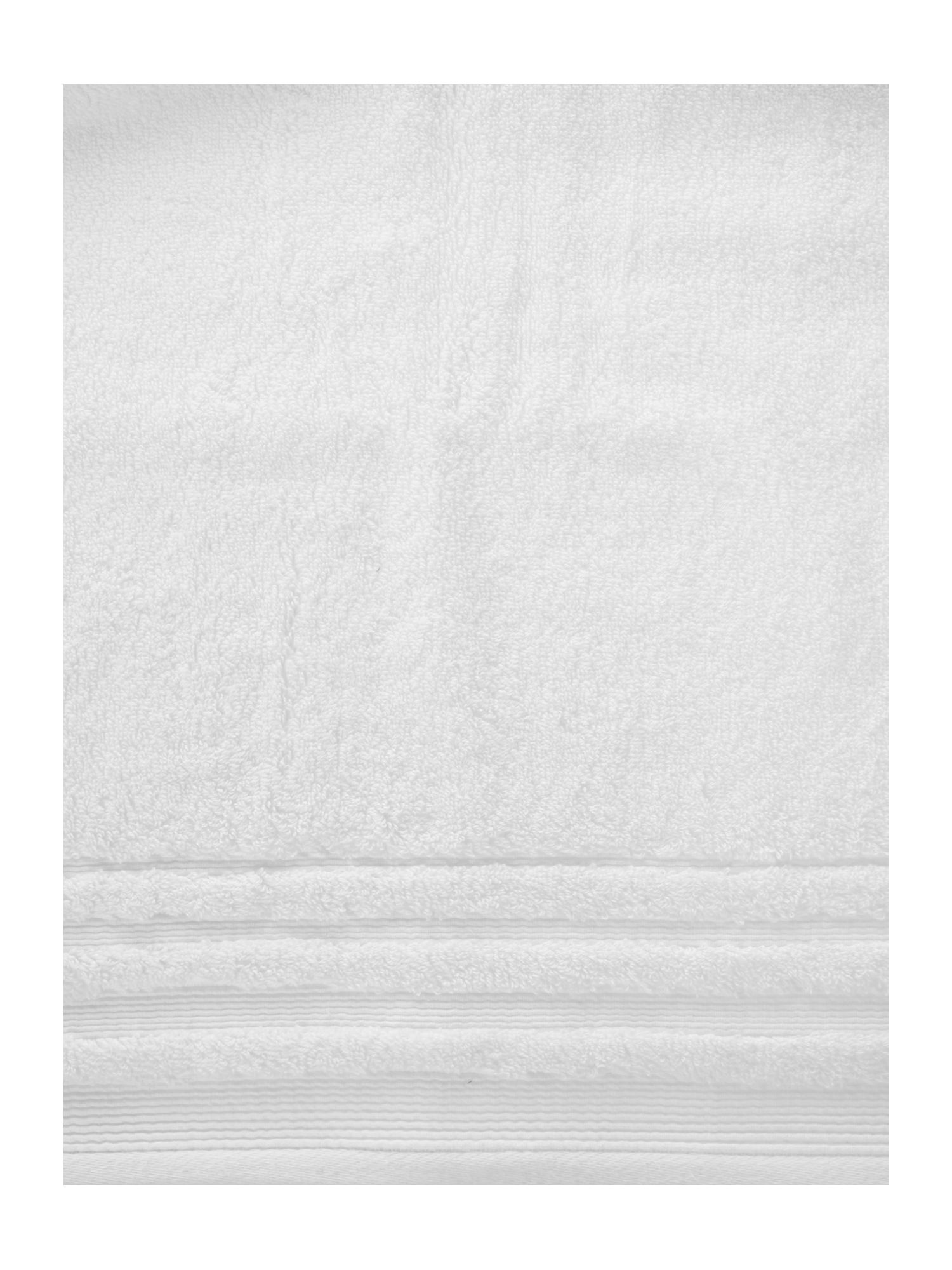 Classic luxury towel range in white