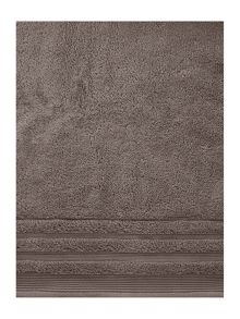 Classic luxury towel range in smoke