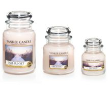 Lake sunset medium jar candle