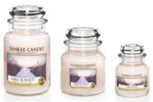 Yankee Candle Lake sunset candles