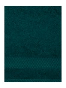 Egyptan cotton towel range in emerald