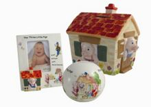 Aynsley The Three Little Pigs Ornament Range
