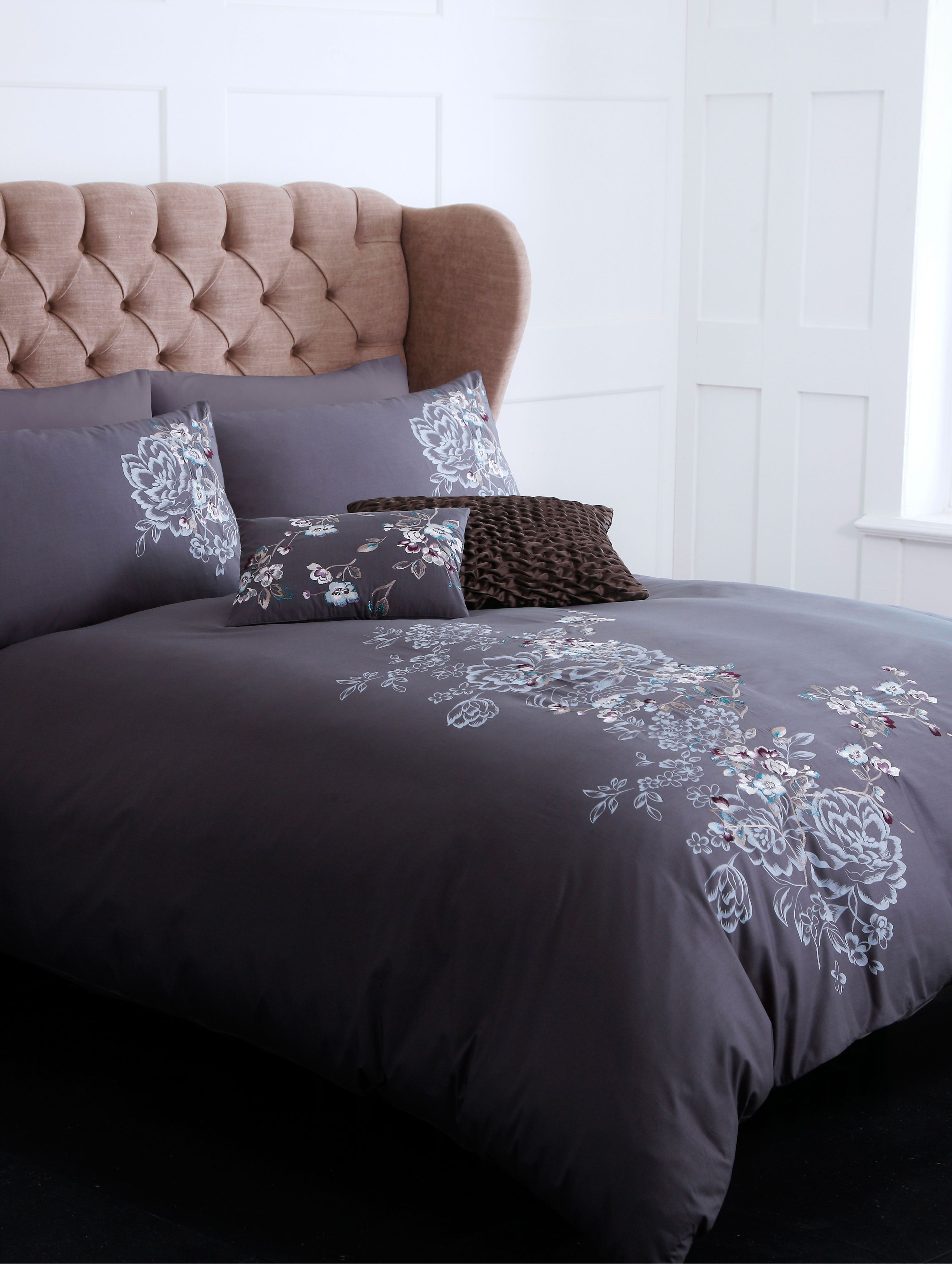 Shadow Floral single duvet cover