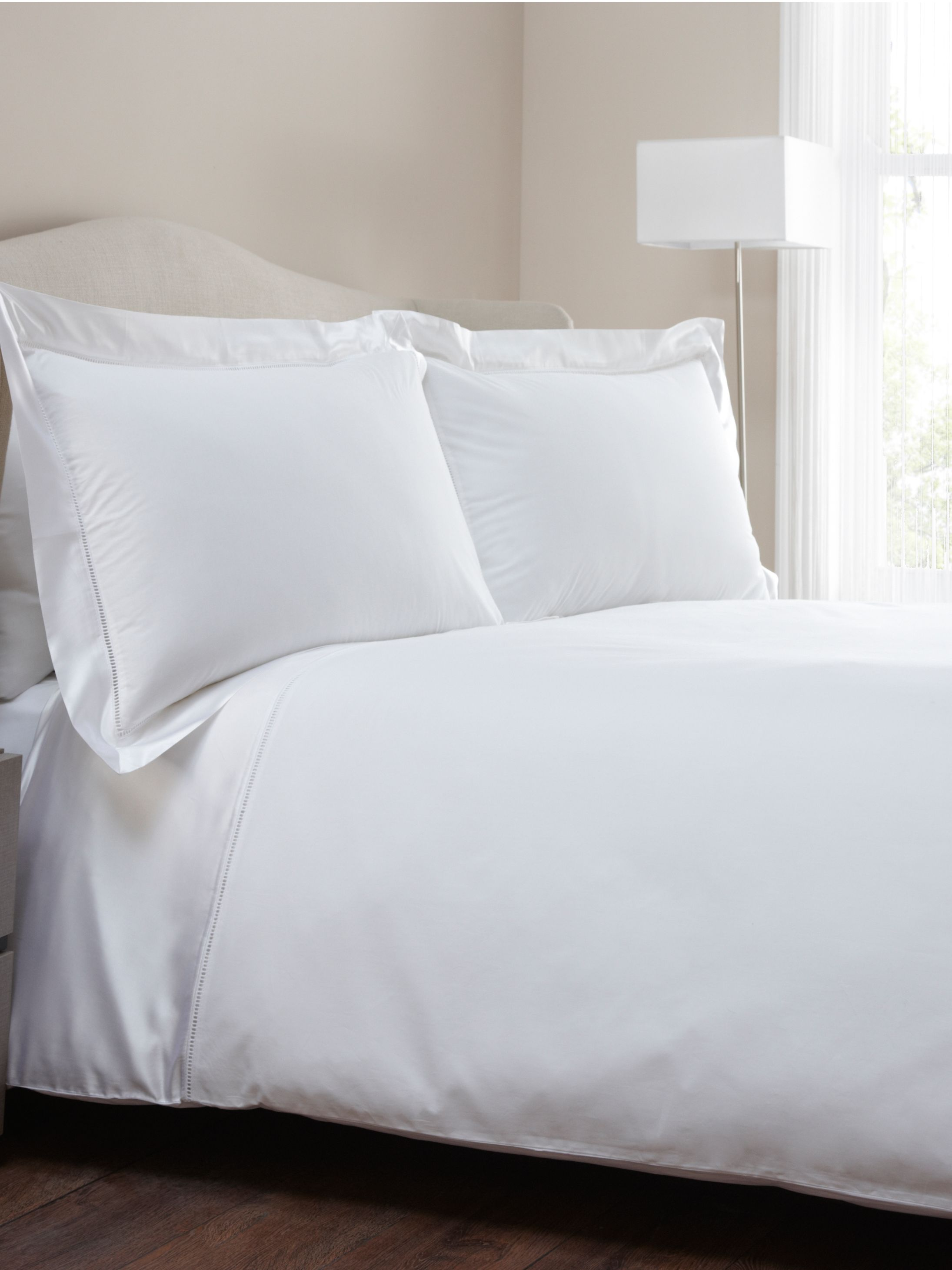 Berwick king duvet cover white