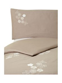 Natural flower duvet set