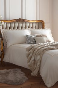 Edwardian lace bed linen by Biba Serena