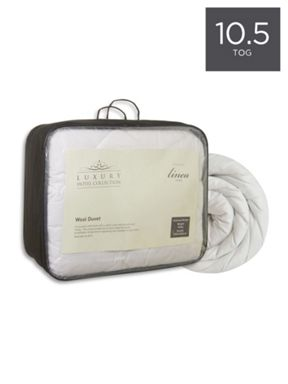 Luxury Hotel Collection Wool 10.5 tog duvets