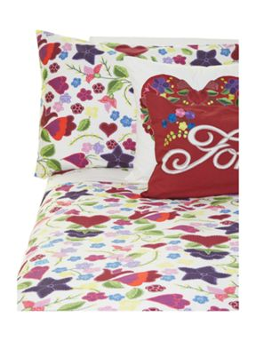 Linea by Jan Constantine Gypsy rose duvet cover set