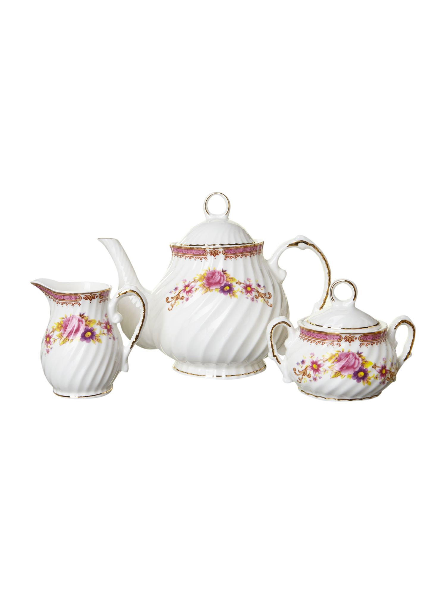 Kensington Rose tea service