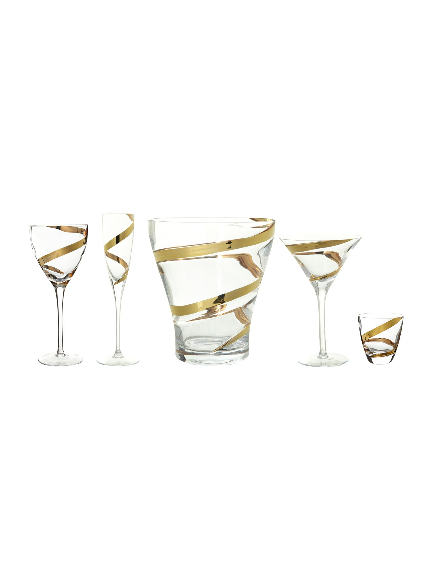 Malika cocktail glass set of 2