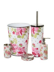 Linea Pretty white bathroom accessories